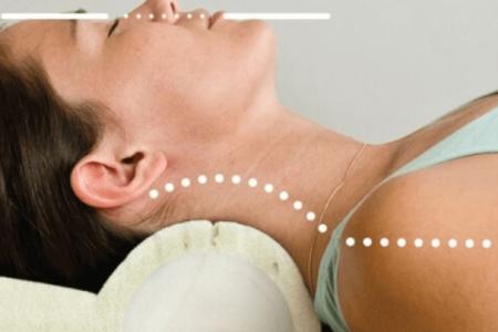 Almohada cervical terapéutica
