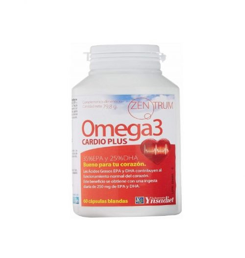 Omega 3 cadio plus zentrum 60 capsulas