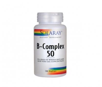 b complex 50 solaray Vedayur