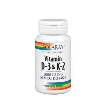 Vitamina D3 & K2 Solaray