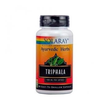 Triphala Solaray 90 capsulas Vedayur